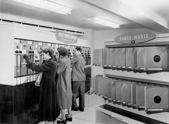 HMV Oxford Street – Photos 1950s & 1960s
